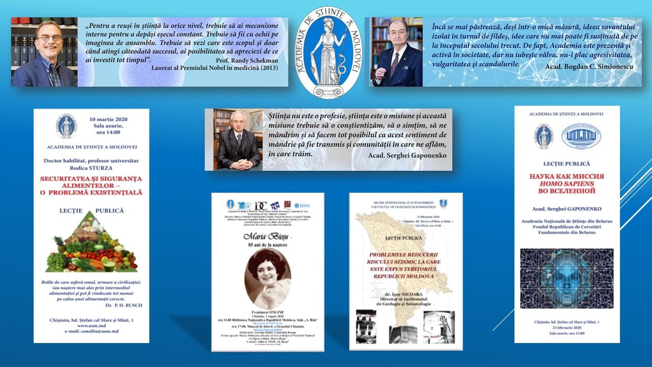 PLATFORMELE DE CERCETARE ŞI COMUNICARE DIN CADRUL ACADEMIEI DE ȘTIINŢE A MOLDOVEI – UN PAS SIGUR SPRE INTEGRAREA ÎN SPAȚIUL EUROPEAN DE CERCETARE
